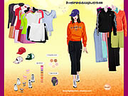 Click to Play Adidas Apparel Dressup