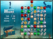 Click to Play Treasure Hunt Game