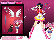 Click to Play Sailor Moon Dressup