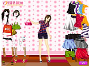 Click to Play Summer Shopper Dressup