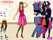 Click to Play Dress Up A Slender Girl
