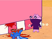 Click to Play Happy Tree Friends - Pitchin' Impossible