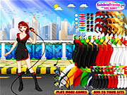Click to Play Weather Girl