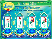 Click to Play Ariel Water Ballet