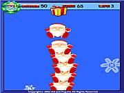 Click to Play Pile Up Santa