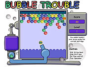 Click to Play The Bubble Trouble Game