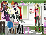 Click to Play Girl Waiting Dressup