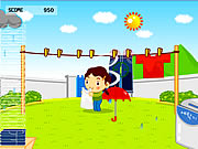 Click to Play Drying Game