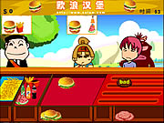 Click to Play Burger Boy