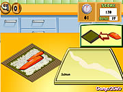 Click to Play Cooking Show - Sushi Rolls