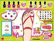 Click to Play Sweet Feet Nail Polish