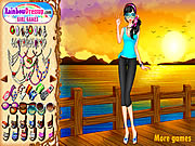 Click to Play Sunset Chic Dressup