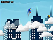 Click to Play Sonic on Clouds