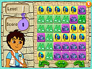Click to Play Diego's Puzzle Pyramid