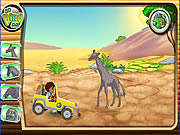 Click to Play Diego's African Offroad Rescue