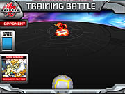 Click to Play Bakugan Training Battle