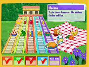 Click to Play Dora's Do-Together Food Pyramid
