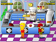 Click to Play Diner Chef
