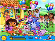Click to Play Treasure Hunt - Dora