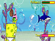 Click to Play Sponge Bob Shell Throwing