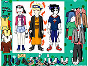Click to Play Naruto Character Dressup