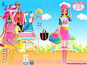 barbie berpakaian game
