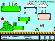 Click to Play Super Mario Bounce