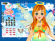 Click to Play Holiday Fairy Dress up