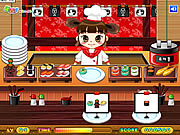 Click to Play Sushi Serving