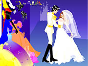 Click to Play Colorful Wedding Dressup