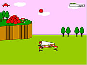 Click to Play Strawberry Cake Builder