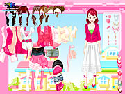 Click to Play Pink Closet Dressup
