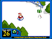 Click to Play Sled Game
