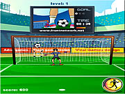 Click to Play Football Challenge
