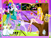 Click to Play Magic Girl Dressup