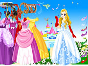 Click to Play Wonderland Gown Dressup