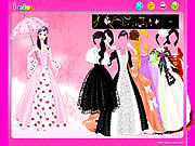 Click to Play Umbrella Gown Dressup