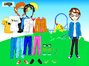 Click to Play Themepark Boy Dressup