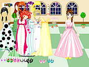 Click to Play Castle Gown Dressup
