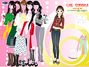 Click to Play Nice Girl Dressup