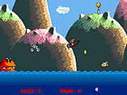 Click to Play Super Mario Boat Bonanza