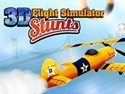 Click to Play 3D Flight Simulator Stunts