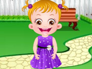 Click to Play Baby Hazel Flower Girl