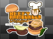 Click to Play  Beefy Hamburger Designer