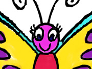 Click to Play Butterfly Coloring Book
