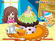 Click to Play Colorful Cupcake