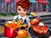 Click to Play Cooking Fast: Hotdogs and burgers Craze