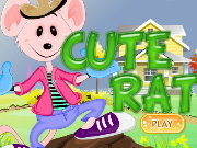 Click to Play Cute Rat