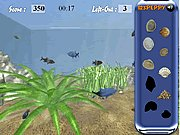 Click to Play Find the Shells in Aquarium