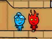 Click to Play Fireboy and Watergirl 2 Light Temple